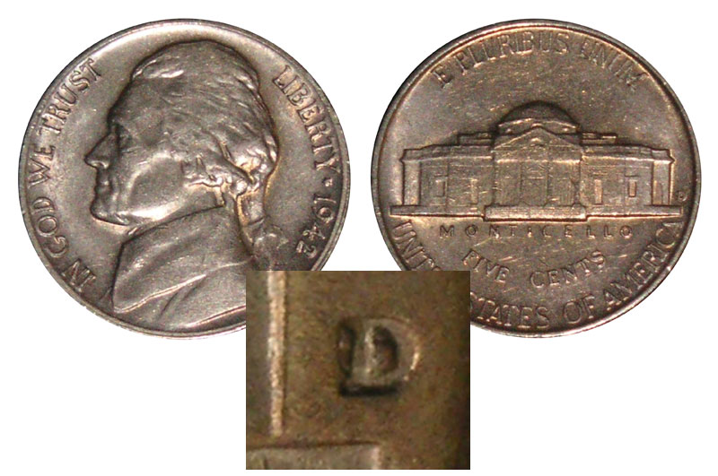 Modern Jefferson Nickel varieties you can find coin searching