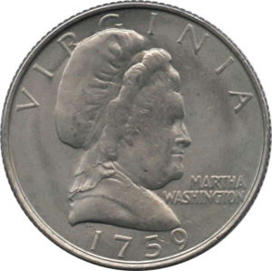 martha washington coin