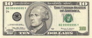 high serial number bill