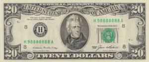 seven in a row fancy serial number