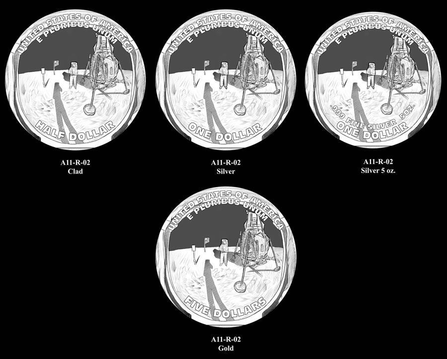 us mint apollo 11 commemorative coin