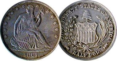 The 1861 US Confederate Half Dollar – What to Know