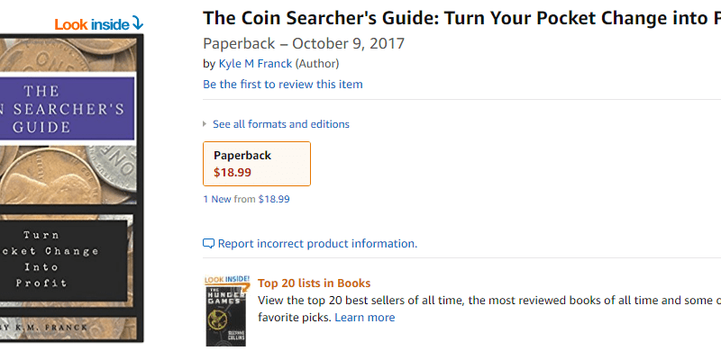 Coin Searchers Coin Guide Thumbnail Amazon