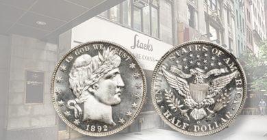 half dolla coin auction