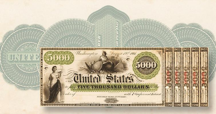 5000 us bill herzog collection