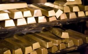 gold price at 2018 low