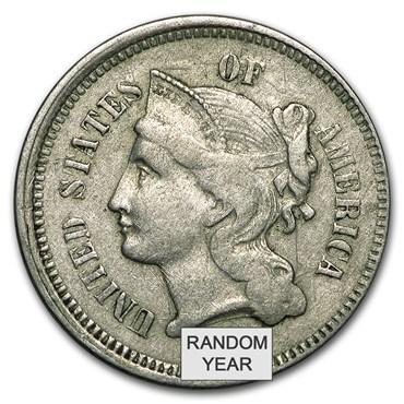 3 cent nickel values