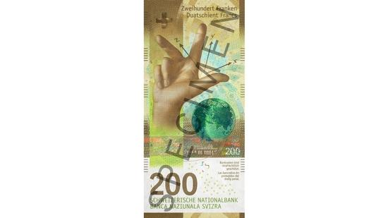new swiss bank note 200