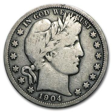 barber half dollar values