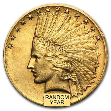 indian head gold coin values