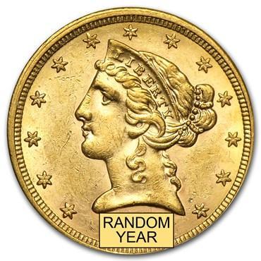 liberty $5 gold coin value