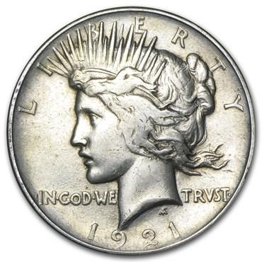 peace dollar values