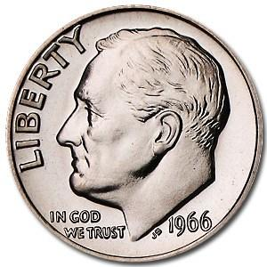 roosevelt dime values