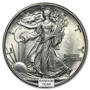 Walking Liberty Half Dollar Values