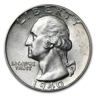 washington quarter values