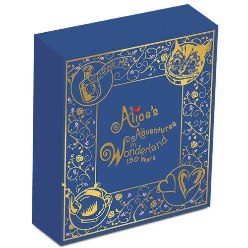 150th Anniversary Alice in Wonderland Coin 3