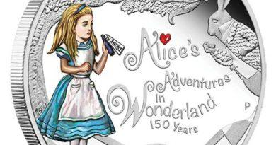 150th Anniversary Alice in Wonderland Coin