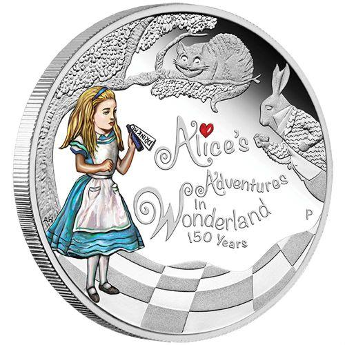 150th Anniversary Alice in Wonderland Coin
