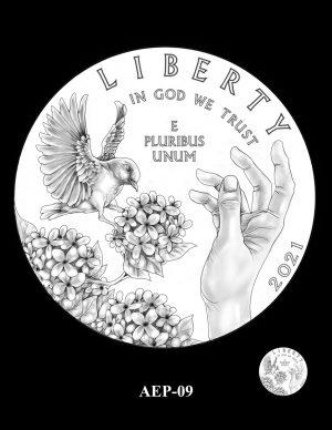 New Proof Platinum American Eagle Coin Design Concepts Released 11