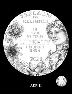 New Proof Platinum American Eagle Coin Design Concepts Released 13