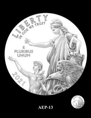 New Proof Platinum American Eagle Coin Design Concepts Released 15