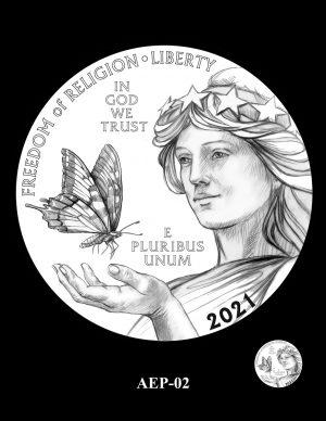 New Proof Platinum American Eagle Coin Design Concepts Released 4