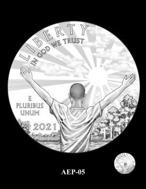 New Proof Platinum American Eagle Coin Design Concepts Released 7