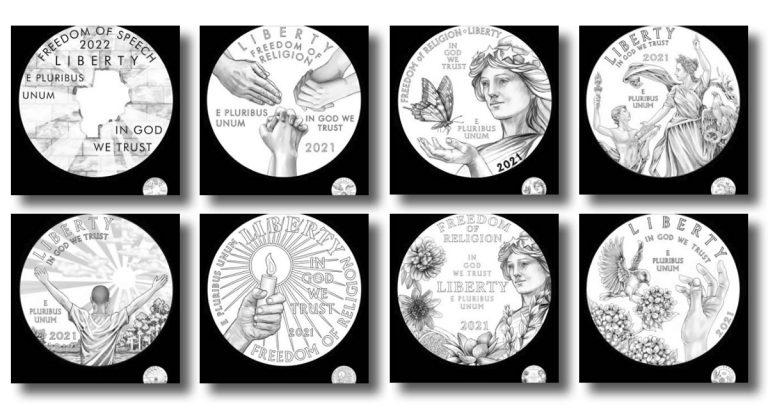 New Proof Platinum American Eagle Coin Design Concepts Released