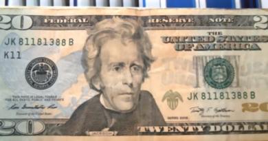$20 trinary note