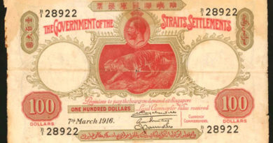 Straits Settlement rarities