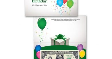 birthday note starnote bep uncirculated banknote us federal reserve