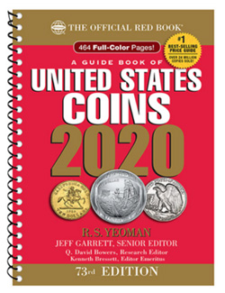 2020 red book us guide to united states coins 2020 whitman