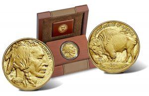 $50 gold buffalo head indian cent