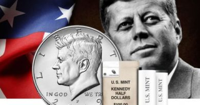 new kennedy half dollar coins for 2019