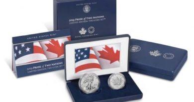 america pride us canada coin set