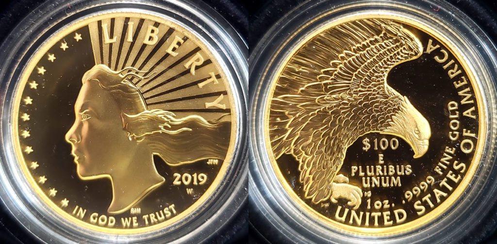 US Mint Sales Report of Coins and Currency Products