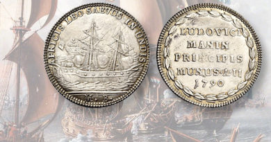 Medal-in-Numismatica-Ars-Classica-auction-marks-Venetian-victory-over-pirates