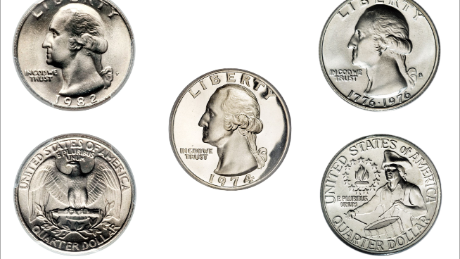 most valuable quarters you can find in pocket change worth a ton of money error coins error quarters 1943 1982 1983 p d doubled die
