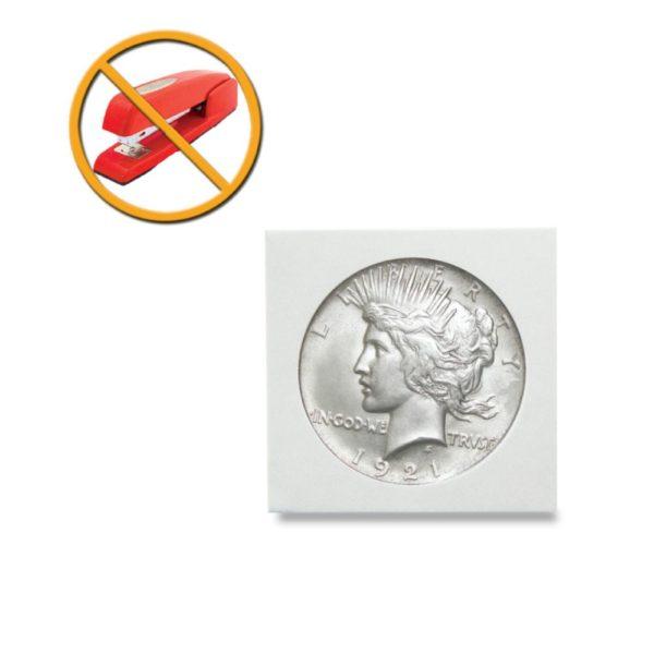 Peel N Seal Flips 2x2 Adhesive Dollar Size 100 Count