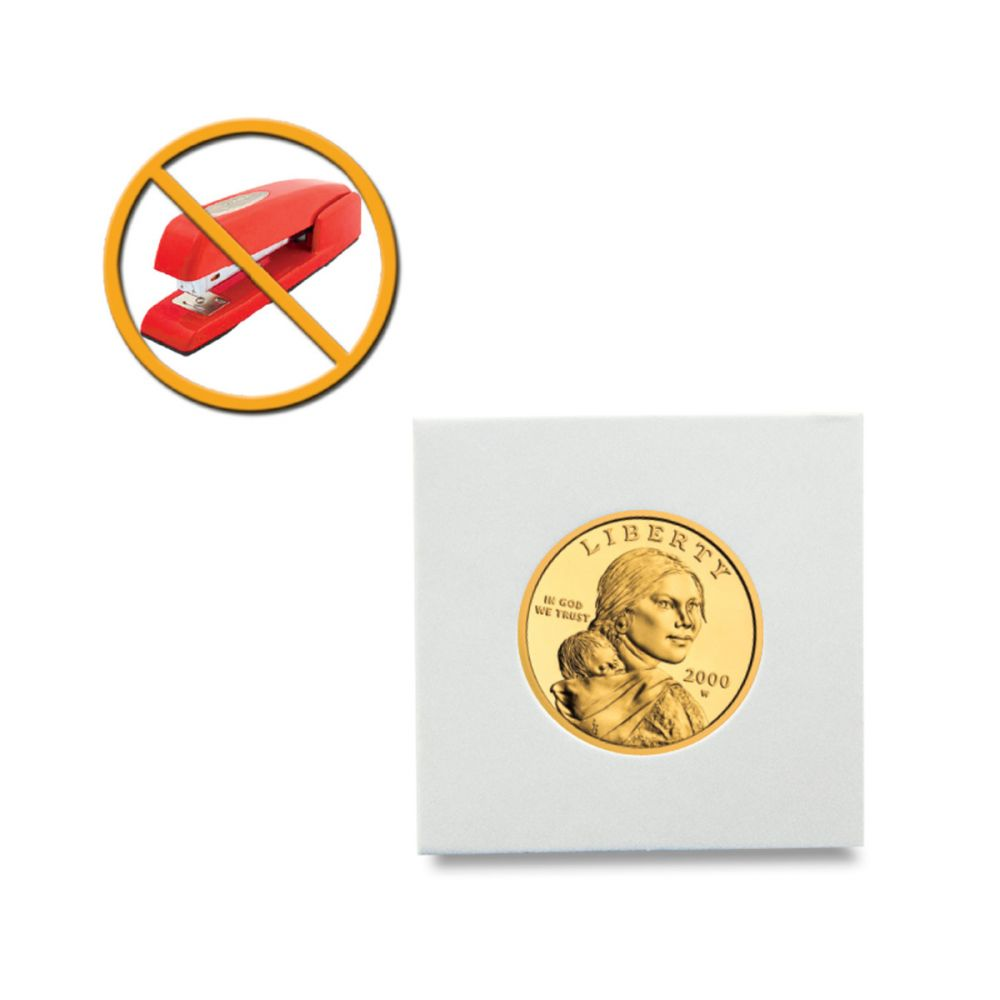 Peel N Seal Flips 2x2 Adhesive Small Dollar 100 Count