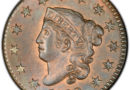 coronet head cent