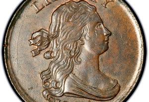 draped bust half cent values