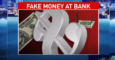 counterfeit fake money bills given out at bank in Tennessee