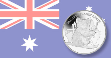 The Pobjoy Mint has released a 2020 Preserve Planet Earth coin showing a koala. Fifteen percent of sales are earmarked for the New South Wales Wildlif