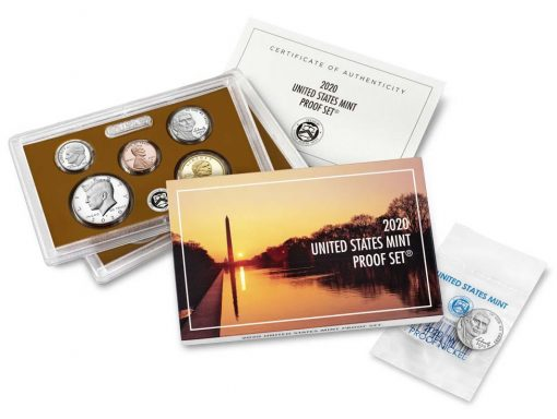U.S. Mint 2020 Proof Set Purchase Includes Premium 'W' Nickel