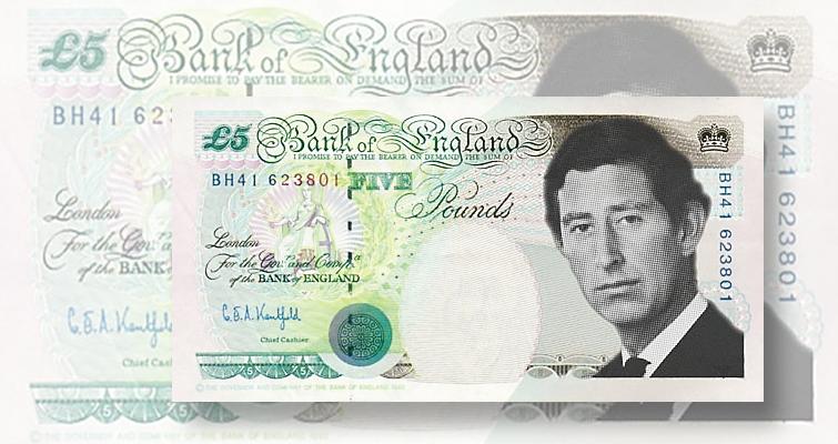 prince charles banknote money king charles money