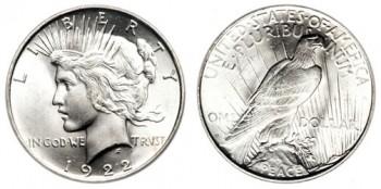 peace dollar values error coin price guide