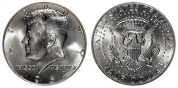 silver kennedy half dollars values