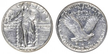 standing liberty quarter silver melt value error coin price guide