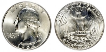 washington quarter silver melt values coin guide